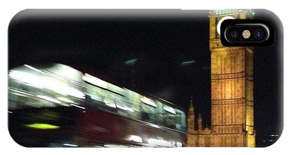 London Bridge iPhone Case - Evening In London by Raena