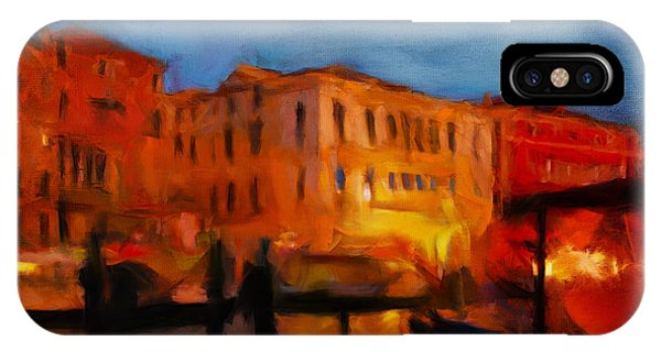 Evening In Venice IPhone Case