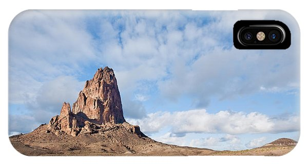 Evening Light On Agathla Peak IPhone Case