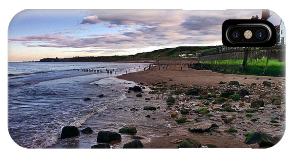 Evening On Sandsend Beach Yorkshire IPhone Case