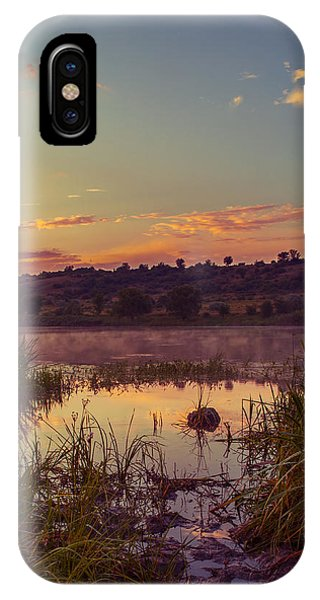 Evening On The Quiet River IPhone Case