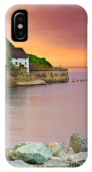 Evening Over Runswick Bay IPhone Case