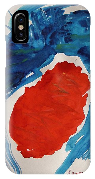 Evening Over Scarlet Lake IPhone Case