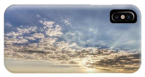 IPhone Case featuring the photograph Evening Rays At Cheyenne Bottoms by Rob Graham