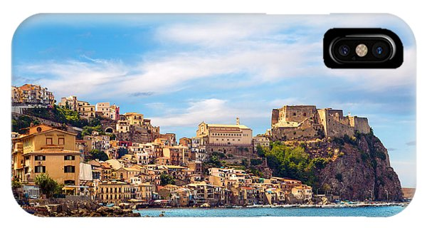 Evening Scilla Castle IPhone Case