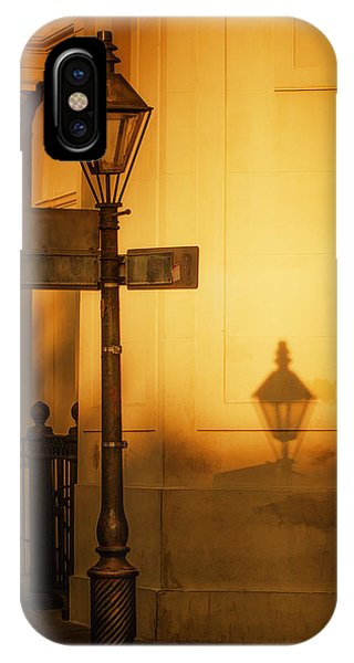 Evening Shadow In Jackson Square IPhone Case