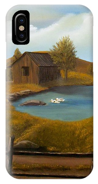 Evening Solitude IPhone Case
