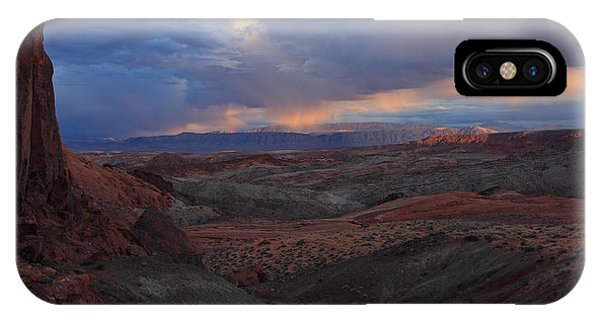 Evening Storm At Nevada's Valley Of Fire IPhone Case