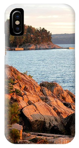 Evening Sun By The Waterfront IPhone Case