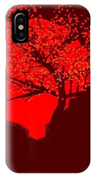 Evening Tree IPhone Case