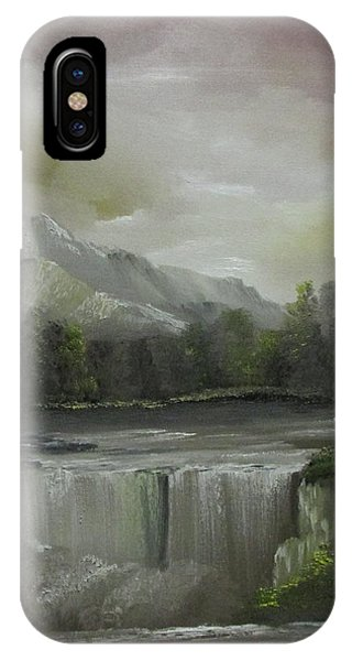 Evening Waterfalls IPhone Case