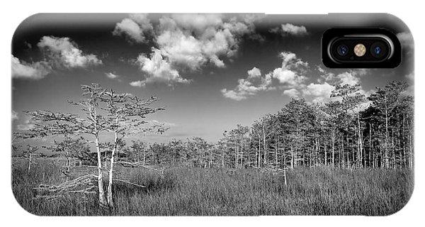 Everglades 9574bw IPhone Case