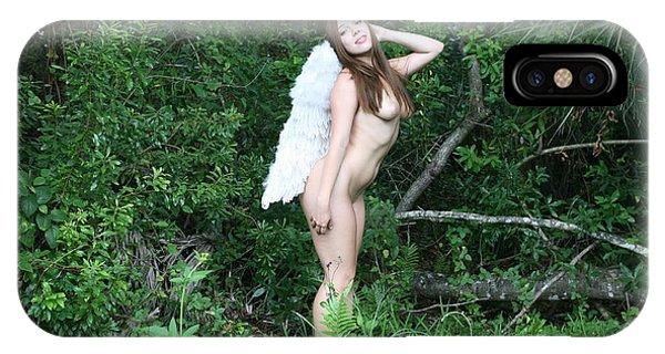 Everglades City Florida Angel 2577 IPhone Case