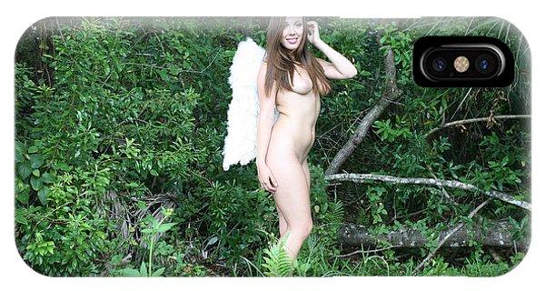 Everglades City Florida Angel 2578 IPhone Case