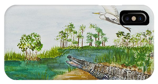 Everglades Critters IPhone Case