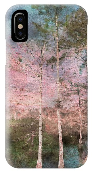 Texture iPhone Case - Everglades by Eduardo Llerandi