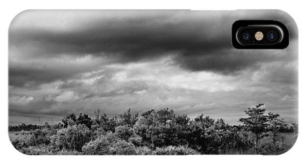 Everglades Storm Bw IPhone Case