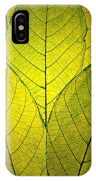 Every Leaf A Flower IPhone Case