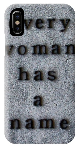 Alice Cooper iPhone Case - Every Woman Has A Name Excerpt by Angelina Tamez