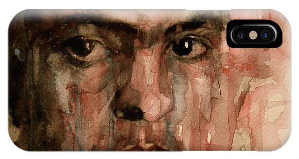 Famous Artist iPhone Case - Everybody Hurts by Paul Lovering