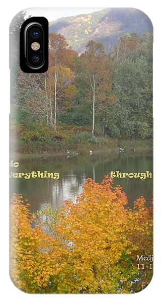 Everything With Prayer IPhone Case