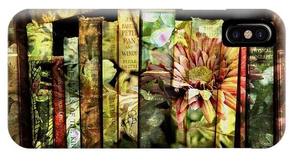 Evie's Book Garden IPhone Case