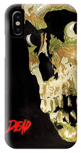 Evil Dead Skull IPhone Case