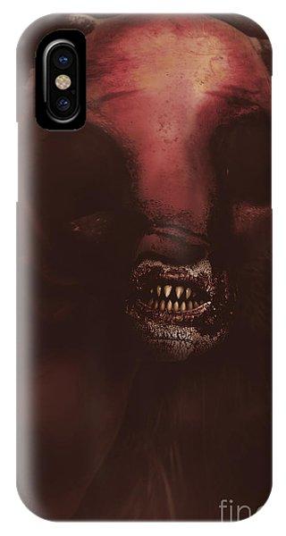 Minotaur iPhone Case - Evil Greek Mythology Minotaur by Jorgo Photography - Wall Art Gallery
