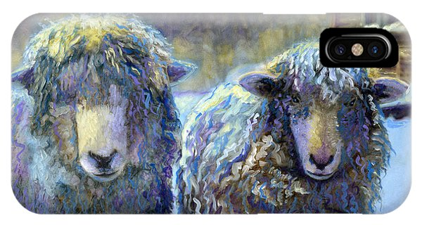 Ewe And Me 2 IPhone Case
