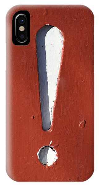 Exclamation Point IPhone Case