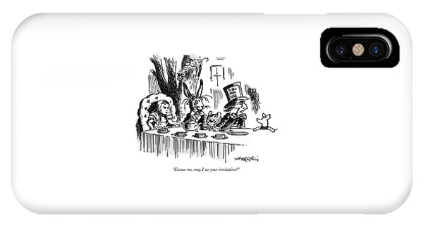 Excuse Me, May I See Your Invitation? IPhone Case