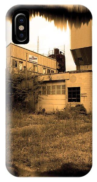 Exeter Concrete I I - Abandoned IPhone Case