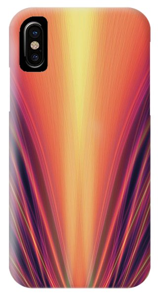 Violet Flame iPhone Case - Exhilaration by Tim Allen