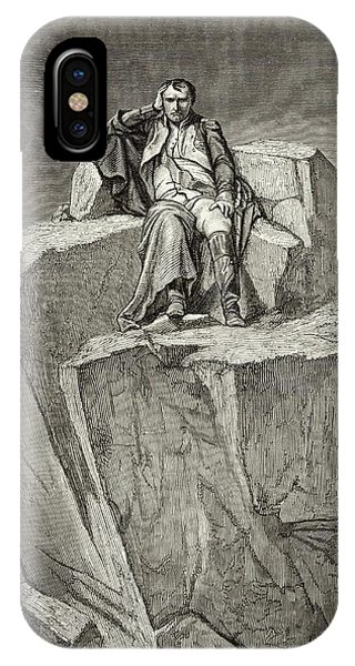 Exiled On Saint Helena, He  Chooses Phone Case by Mary Evans Picture Library