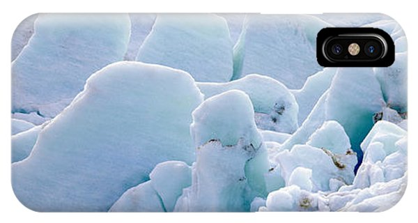 Glacier Bay iPhone Case - Exit Glacier At Harding Ice Field by Panoramic Images