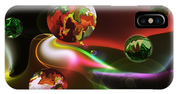 Exotic Worlds IPhone Case