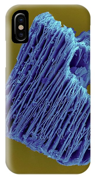 Flammable iPhone Case - Expanded Vermiculite Pellet by Dennis Kunkel Microscopy/science Photo Library