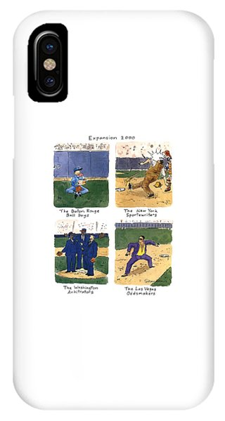 Expansion 2000 IPhone Case