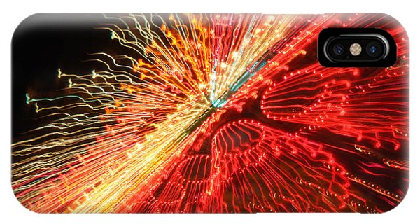 Exploding Neon IPhone Case