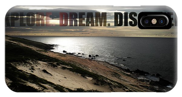 Brazil iPhone X Case - Explore. Dream. Discover by Nicklas Gustafsson