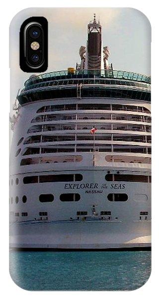 Explorer Of The Seas IPhone Case