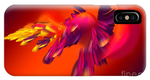 Explosion Of Hot Colors IPhone Case