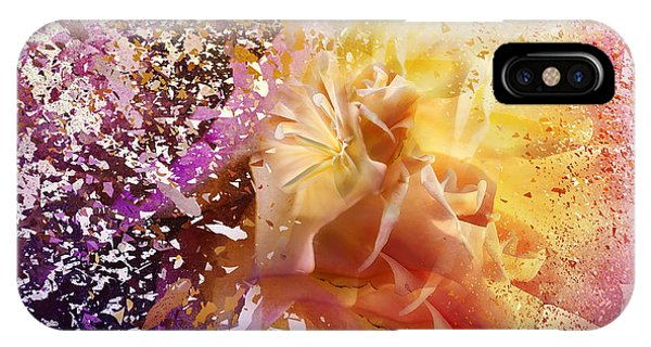 Floral Arrangement iPhone Case - Explosion by Svetlana Sewell