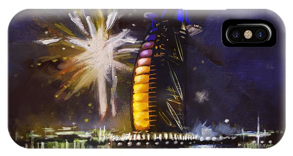 Fireworks iPhone Case - Expo Celebrations by Corporate Art Task Force