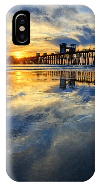 Extreme Low Tide Reflections  Phone Case by Donna Pagakis