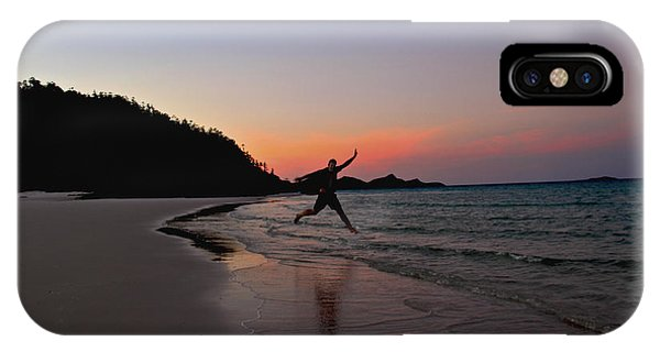IPhone Case featuring the photograph Exuberance by Debbie Cundy