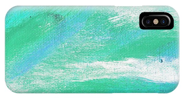 Exuberant Aqua Blue Valley Phone Case by L J Smith