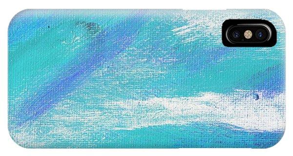 Exuberant Blue Phone Case by L J Smith