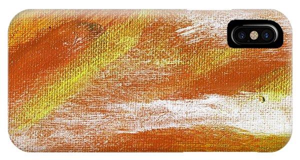 Exuberant Cooper Hue  Phone Case by L J Smith