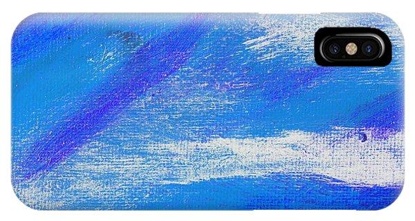 Exuberant Midnight Blue Phone Case by L J Smith
